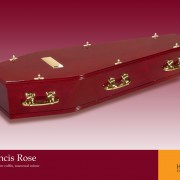 St Francis Rose Coffin