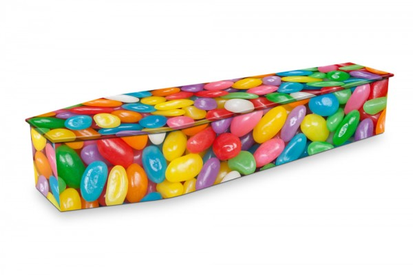 expression coffin jelly bean