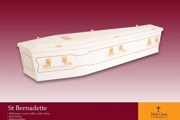 St Bernadette Coffin