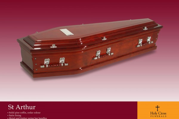 St Arthur Coffin