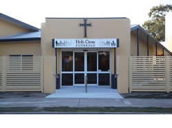 Holy Cross Funerals Entrance