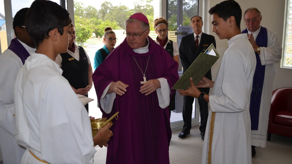 blessing of holy cross funerals