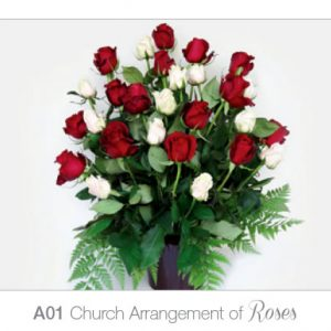 Church Arrangement of Roses