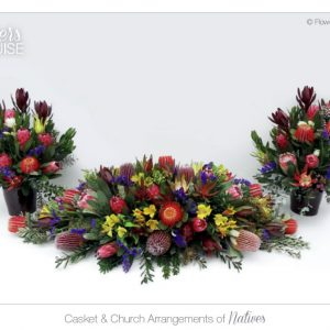 Casket & Church Arrangements of Natives