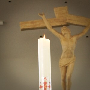 Holy Cross Funerals Candle