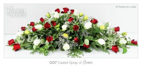 Casket Spray of Roses